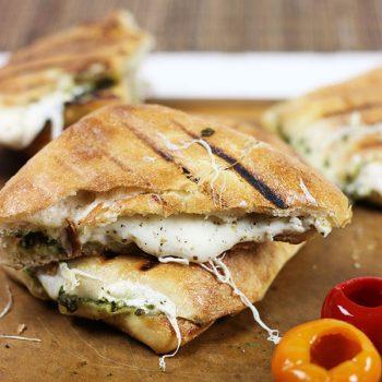 Mozzarella Pesto Panino + more from ABC's The Chew