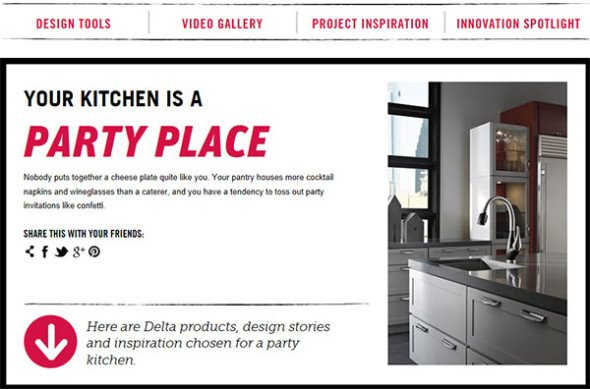 Delta's Kitchen Personality Quiz #Touch20 #DeltaFaucetInspired