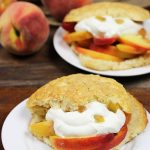 Peach Shortcakes with Candied Ginger