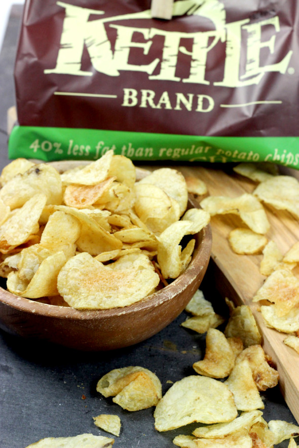 Pulled Pork Kettle Chip Bites #summer #TheRealKettleChips