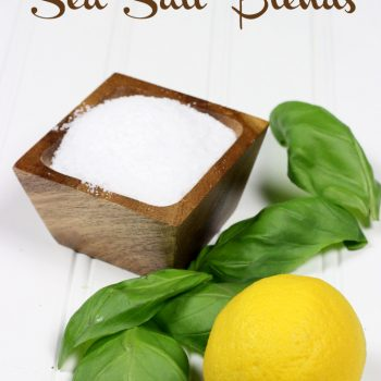 How to Make Your Own Citrus Sea Salt Blends