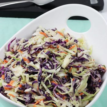 Tired of buying coleslaw at the store? Then make your own! This Quick & Easy Classic Coleslaw recipe is easy, inexpensive and quite tasty!