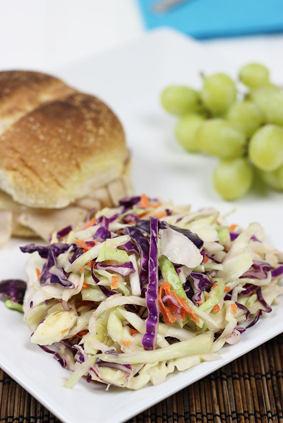 Quick & Easy Coleslaw. So much better than the store bought version!