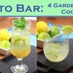 Farm-to-Bar: 4 Garden-Inspired Cocktails