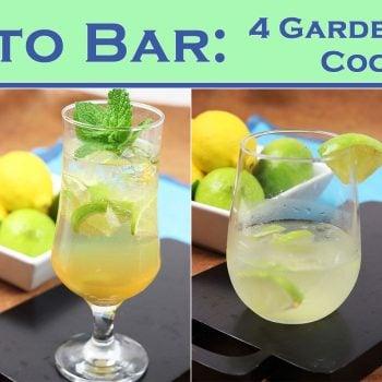 Farm to Bar: 4 Garden-Inspired Cocktails