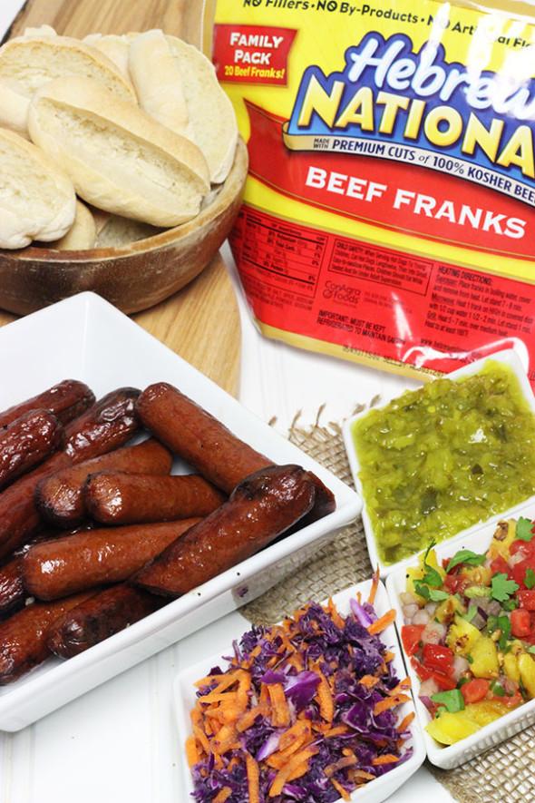 Hot Dog Bites (aka Party Pups) #hebrewnational #99summerdays