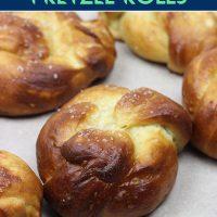 Easy Homemade Pretzel Rolls