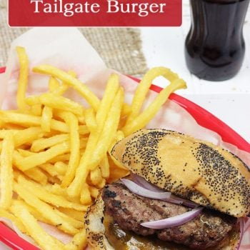 The Ultimate Tailgate Burger!