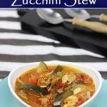 Rustic Zucchini Stew