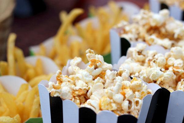 Labor Day: Hot Dogs, Buffalo Popcorn, and Football!