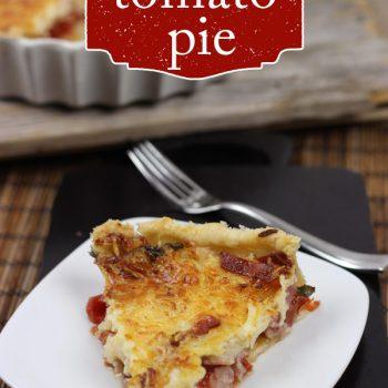 Garden-Fresh Tomato Pie
