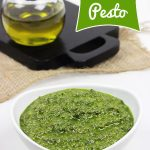 Basil Pesto (and Pesto Bombs for the Winter!)