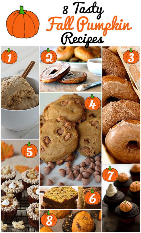 8 Tasty Fall Pumpkin Recipes