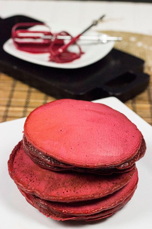 Red Velvet Pancakes!