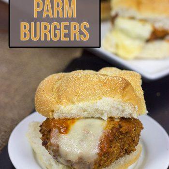 Eggplant Parm Burgers from Spicedblog.com