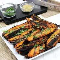 Cilantro-Lime Grilled Sweet Potatoes