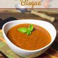 Homemade Tomato Basil Bisque