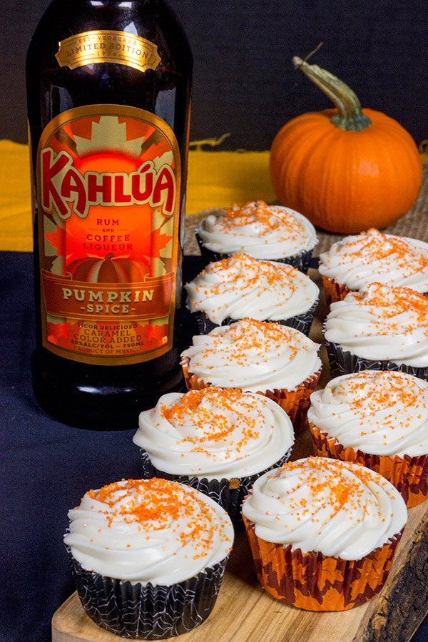 Apple Cider Cupcakes & Pumpkin Spice Latte Martini
