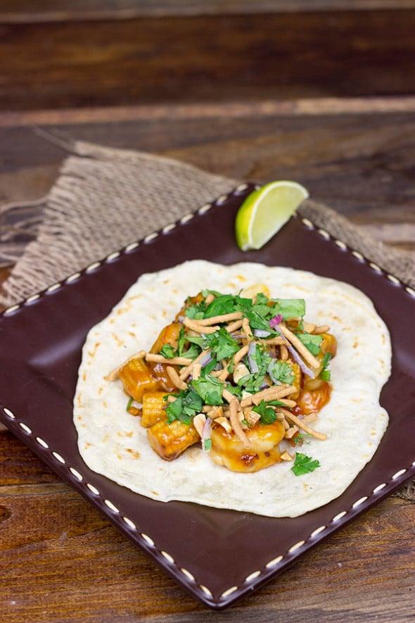 Asian Shrimp Tacos: an easy weeknight meal!