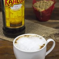 Coffee Cake Muffins with Kahlúa Cappuccino