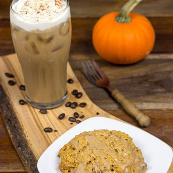 Maple Pumpkin Scones & Kahlua Iced Pumpkin Latte