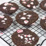 Double Chocolate Peppermint Cookies + Kahlúa Peppermint Hot Cocoa