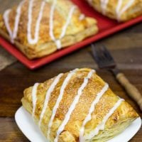 Easy Breakfast Turnovers (with cherry or apple filling)   Spicedblog.com