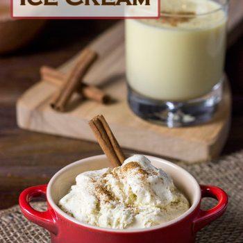 Eggnog Ice Cream | Spicedblog.com