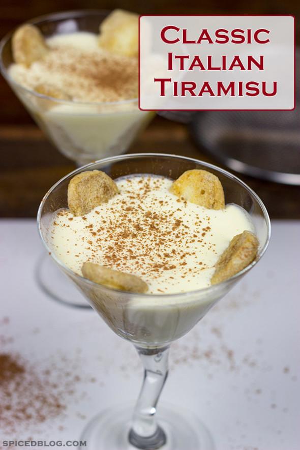 Classic Italian Tiramisu | Spicedblog.com