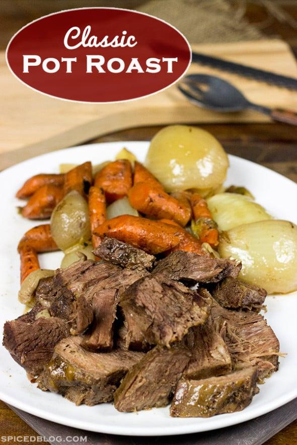 Classic Beef Pot Roast | Spicedblog.com