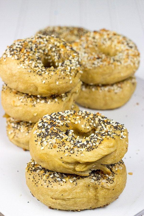 Homemade Everything Bagels | Spicedblog.com