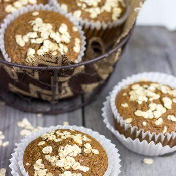 Oat Bran Muffins | Spicedblog.com
