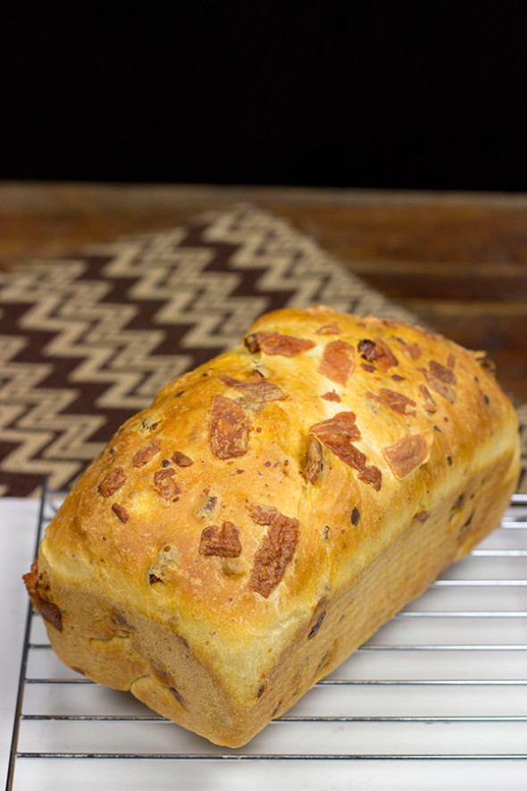 Homemade Pepperoni Bread: This loaf-style Pepperoni Bread is easy and packed with flavor...and perfect for grilled cheese sandwiches!