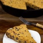 Cast Iron Skillet Chocolate Chip Cookie