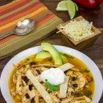 Fiesta Chicken Tortilla Soup