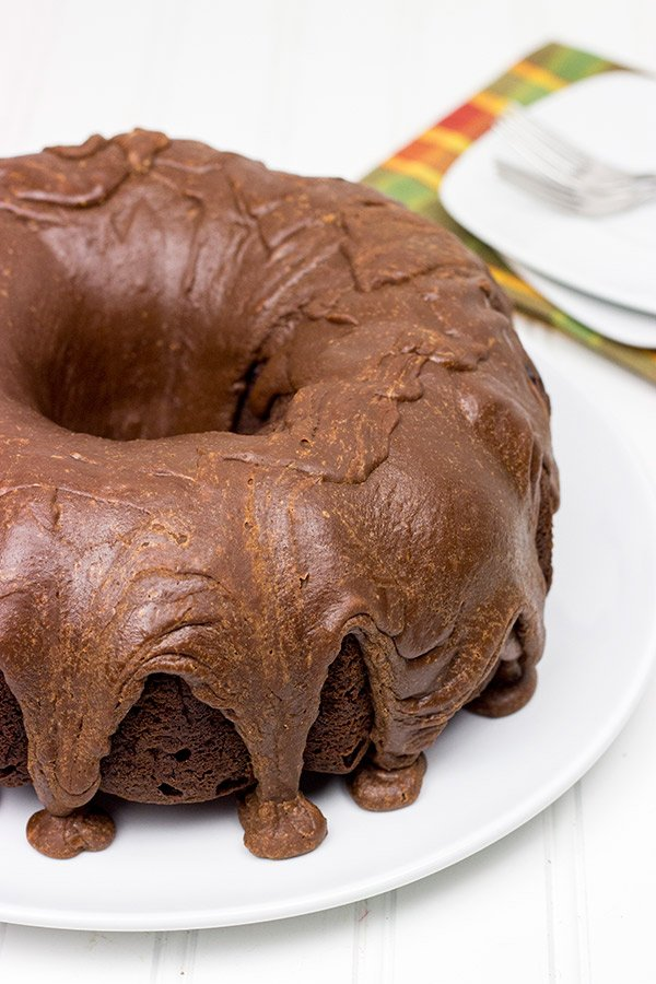 Death by Chocolate Cake with Fudge Icing