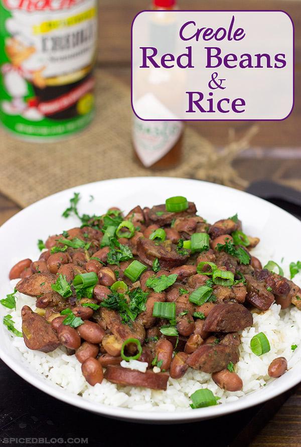 Creole Red Beans & Rice | Spicedblog.com