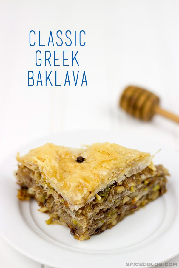 Traditional Greek Baklava | Spicedblog.com