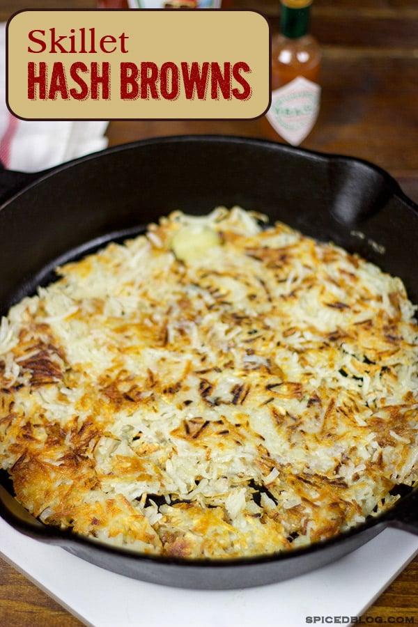 Homemade Hash Browns | Spicedblog.com