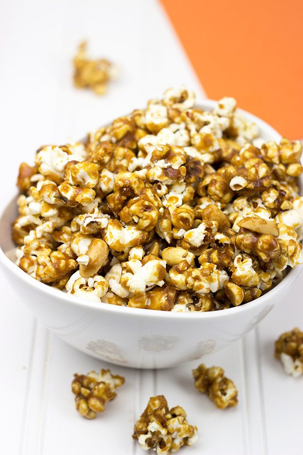 Homemade Cracker Jack (aka - The MOST addicting snack ever!!)