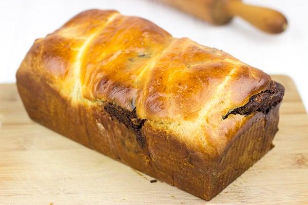 Chocolate Hazelnut Babka | Spicedblog.com