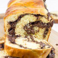 Chocolate Hazelnut Babka   Spicedblog.com