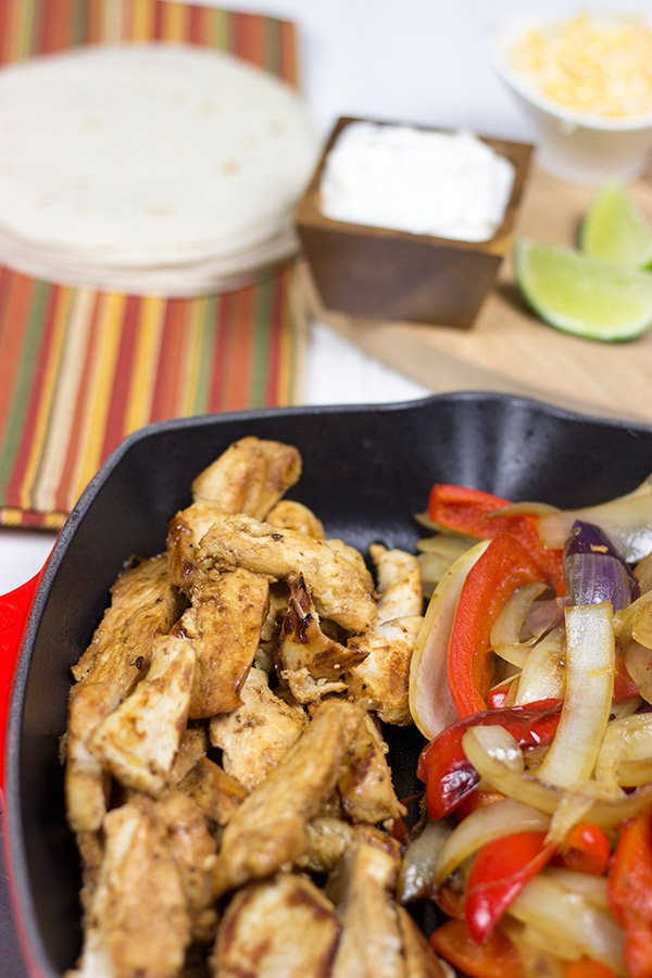 Copycat Chili's Chicken Fajitas