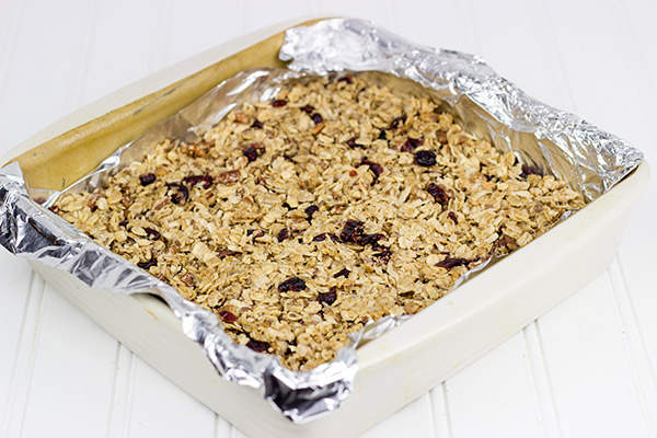 Maple Pecan Coconut Granola Bars