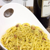 Spaghetti Carbonara: A simple, easy, and absolutely delicious Italian meal!