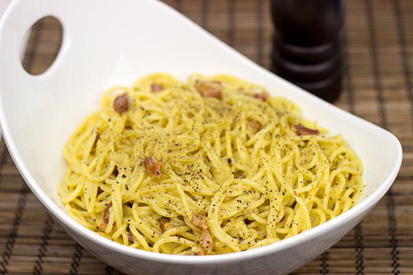 Authentic Spaghetti Carbonara