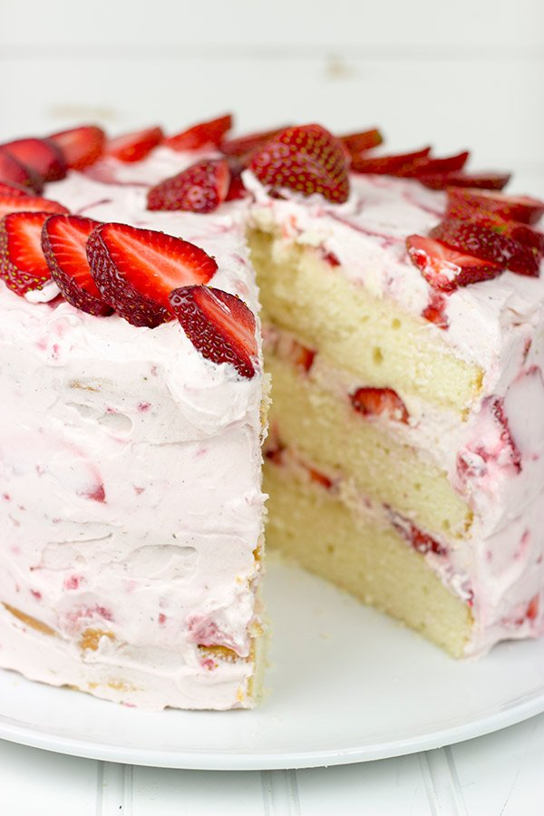 Ambrosia Baton Rouge Strawberry Cake Recipe