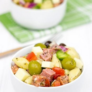 Italian Antipasto Salad: This delicious pasta salad is perfect for summer picnics and barbecues!