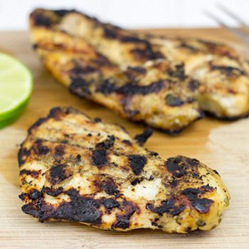 Margarita Grilled Chicken: This grilled chicken is marinated in your favorite margarita ingredients!