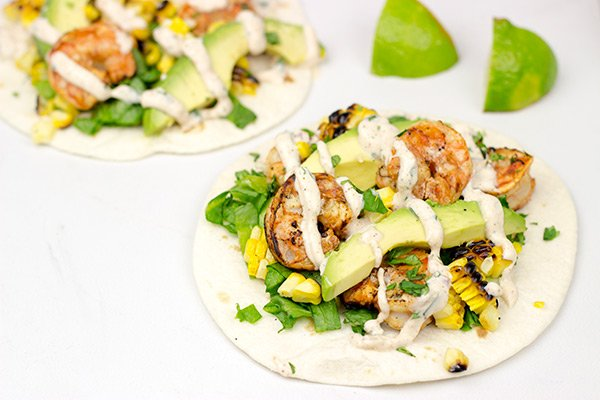 Southwest Shrimp Tacos: These grilled tacos are a delicious and fun summer dinner!